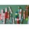 6 Piccoli Cracker di Natale rossi e verdi (19 cm) images:#2