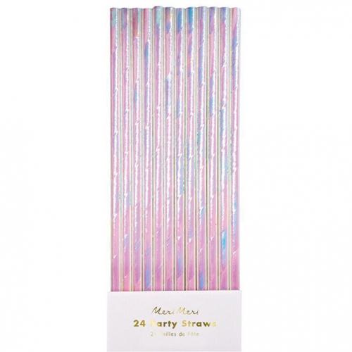 24 cannucce iridescenti