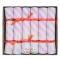 6 piccoli cracker rosa iridescente (17,5 cm) images:#0