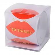 50 Adesivi Bacio d'Amore