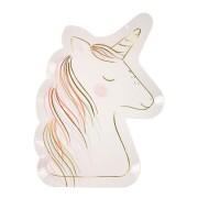 8 Piatti Sweet Unicorno