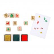 Calendario dell'Avvento Timbrino - Carta