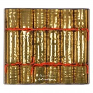 6 Crackers Discoteca Oro (20 cm)