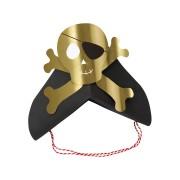 8 Fasce cappello Golden Pirate