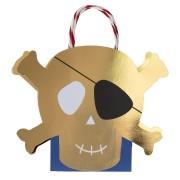 8 Sacchi regalo Golden Pirate
