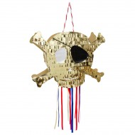 Pull Pinata Teschio - Golden Pirate
