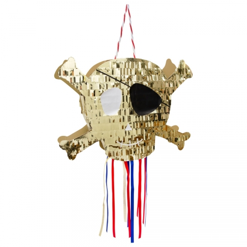 Pull Pinata Teschio - Golden Pirate