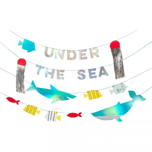 Maxi Ghirlanda sotto il mare (4 x 1,20 m)