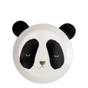 8 Piattini Baby Panda (20 cm)