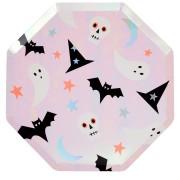 8 Piatti - Funky Halloween Iridescente