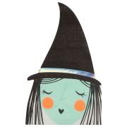 16 Tovaglioli - Strega Halloween