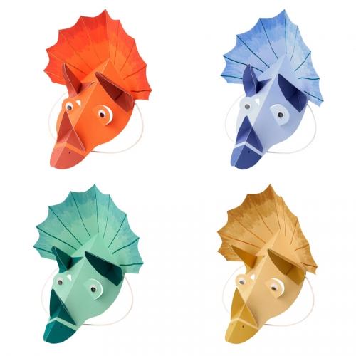 8 Cappelli Maschere - Dinosauro