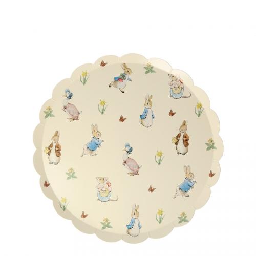 12 Piattini - Peter Rabbit
