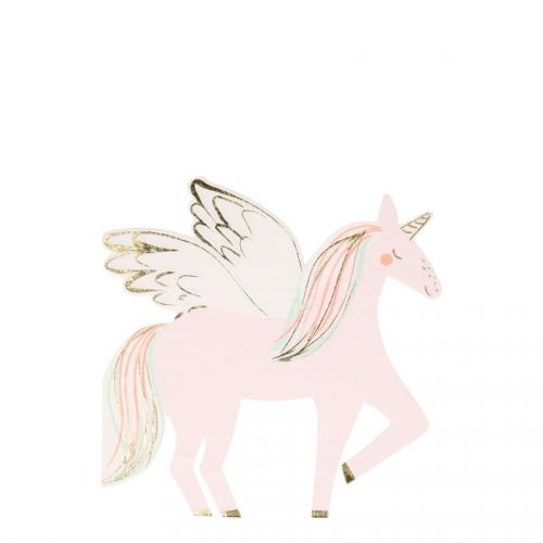 16 Tovagliolini - Sweet Unicorno