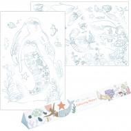 2 Poster da colorare - Sirene