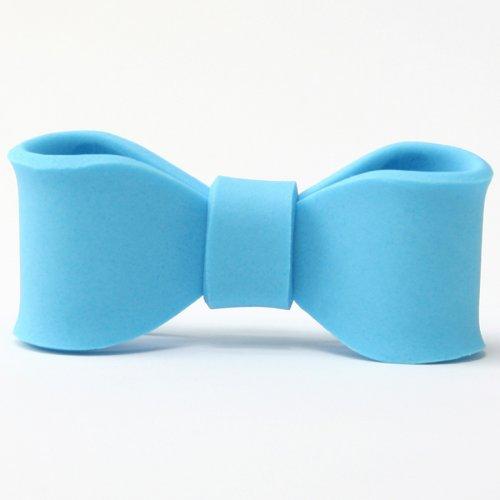 Piccolo fiocco in zucchero blu
