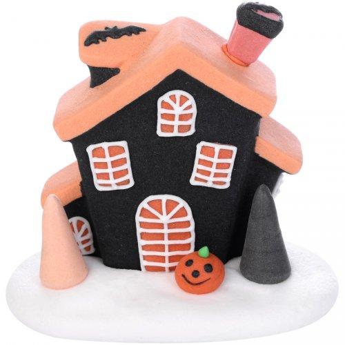 Casetta di Halloween in pasta di zucchero