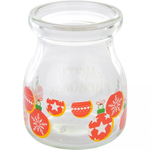 1 vaso Natale (7 cm) - Vetro