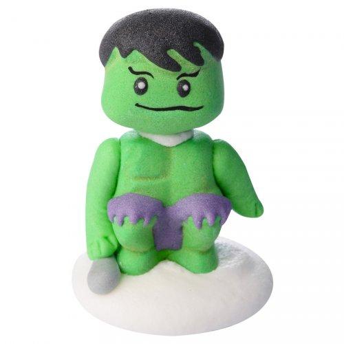 Statuetta Hulk (5 cm) - Pasta di zucchero