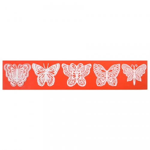Stampo per impronte 5 Farfalle - Silicone