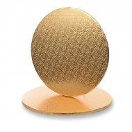 1 teglia per torta rotonda oro (30 cm)