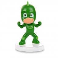 Glugluglu Pajamasques Figurine Verde (6,5 cm) - Base removibile