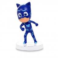 Yoyo Blue Pajamasques Figurine (6,5 cm) - Base removibile