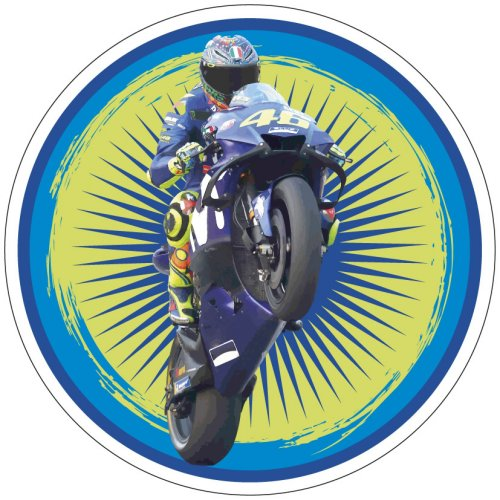 Disco Moto Action blu/verde (21cm) – Ostia