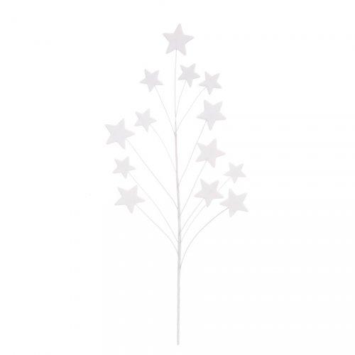 1 Mazzo di stelle in pasta zucchero - Bianco