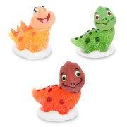 """3 Statuetta 3D """"Happy Dino"""" - Zucchero gelificato"""