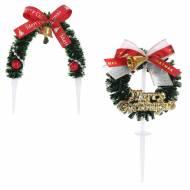 2 Stecchini Ghirlanda di Natale