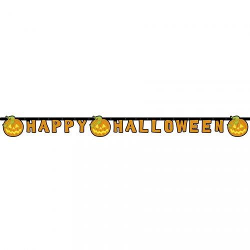 Ghirlanda lettere New Happy Halloween