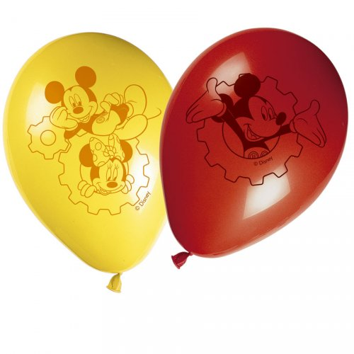 8 Palloncini Mickey Party