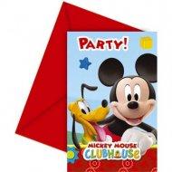 6 Inviti Mickey Party