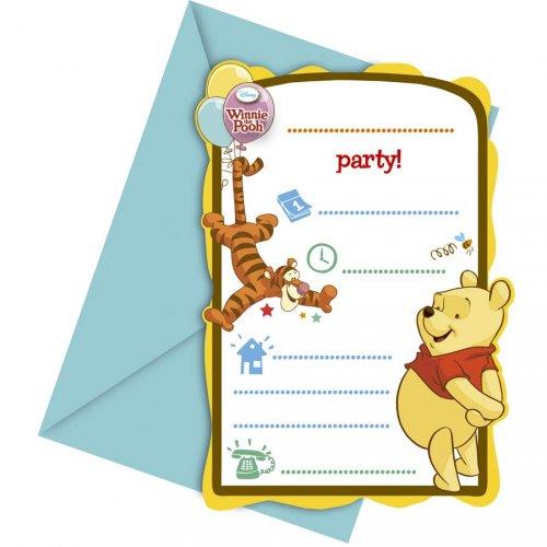 6 Inviti Winnie e i suoi amici