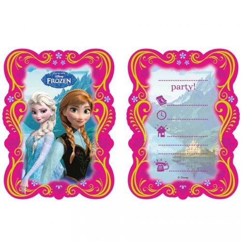6 Inviti Frozen