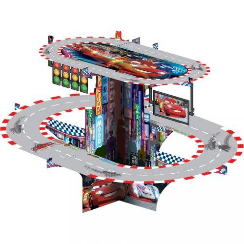 Espositore Cupcake Circuito Cars