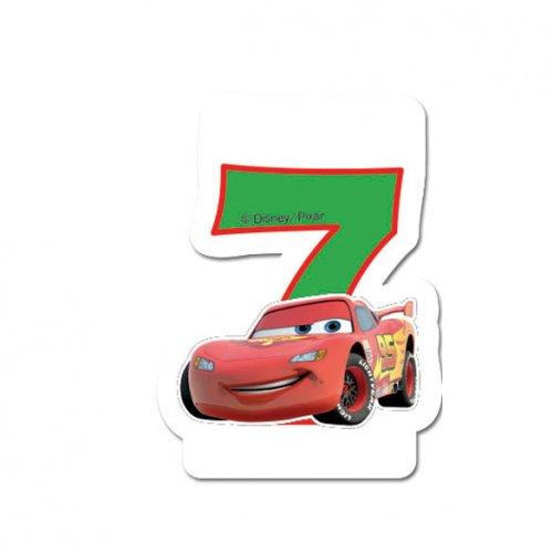 Candela 7 anni Cars