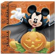 20 Tovaglioli Topolino e Minnie Halloween