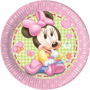 8 Piatti Minnie Baby