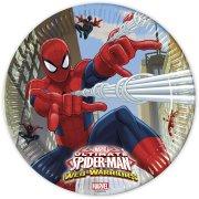 8 Piatti Spiderman Web-Warriors