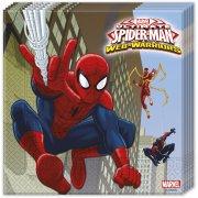 20 Tovaglioli Spider-Man Web-Warriors