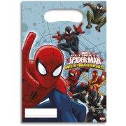 6 Sacchetti regalo Spider-Man-Web-Warriors