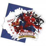 6 Inviti Spider-Man Web-Warriors