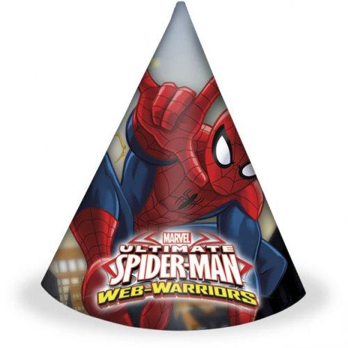 6 Cappelli Spider-Man Web-Warriors