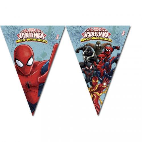 Ghirlanda bandierine Spider-Man Web-Warriors