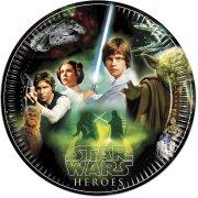 8 Piatti Star Wars Heroes