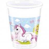 8 Bicchieri Unicorno Incantato