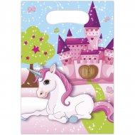 6 Sacchetti regalo Unicorno incantato