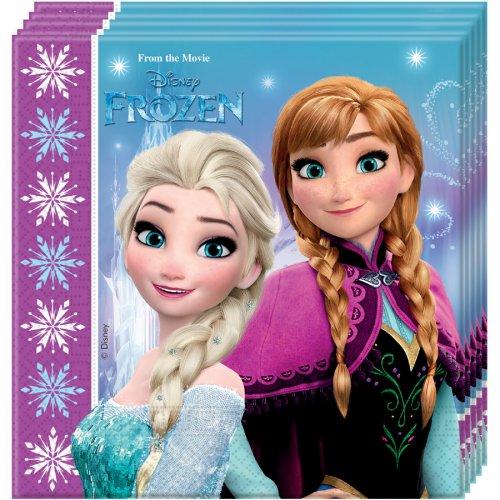 20 Tovaglioli Frozen Festa magica